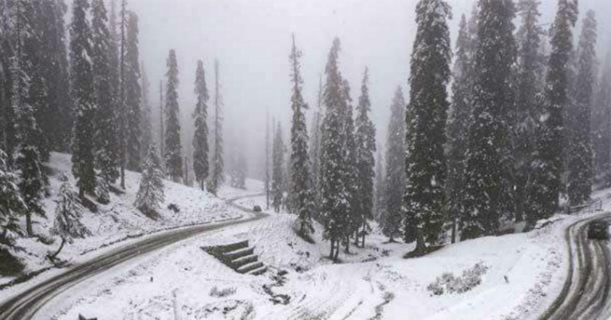 Snow Kashmir
