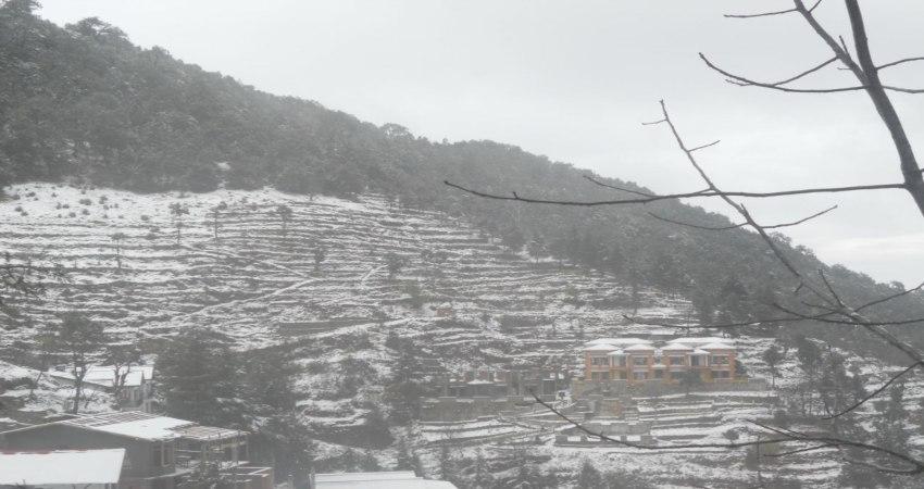 Snowfall Nainital