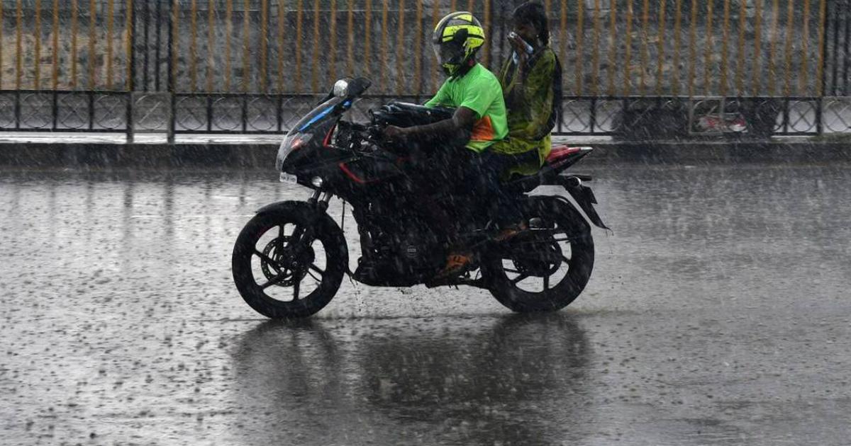 South India rain