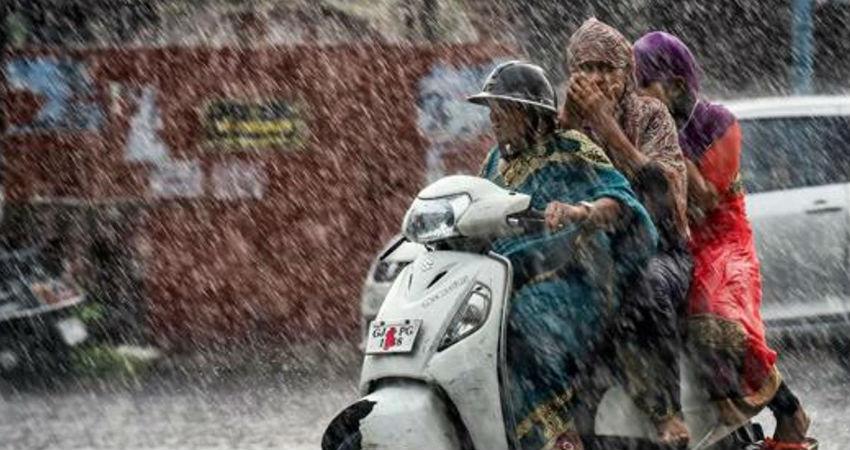 winter rain in Gujarat