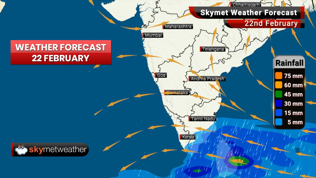Weather Forecast for Feb 22: Rains ahead for Uttar Pradesh, Bihar and Jharkhand