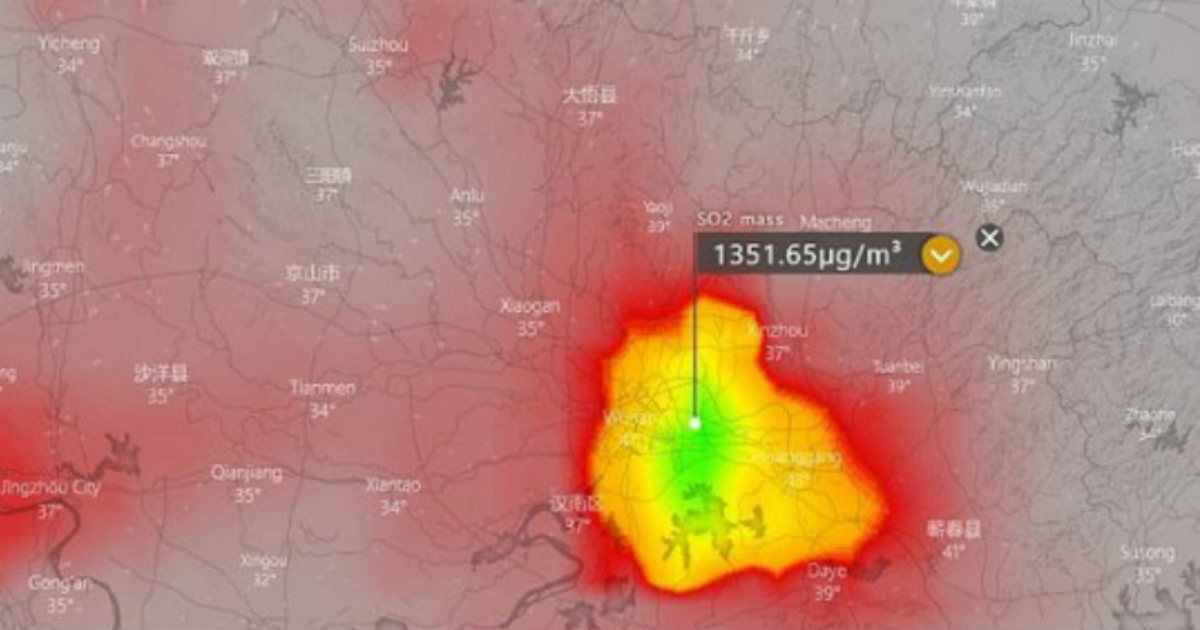 Sulphur dioxide clouds hint high scale of cremations in China, reveal Coronavirus is deadlier than it seems