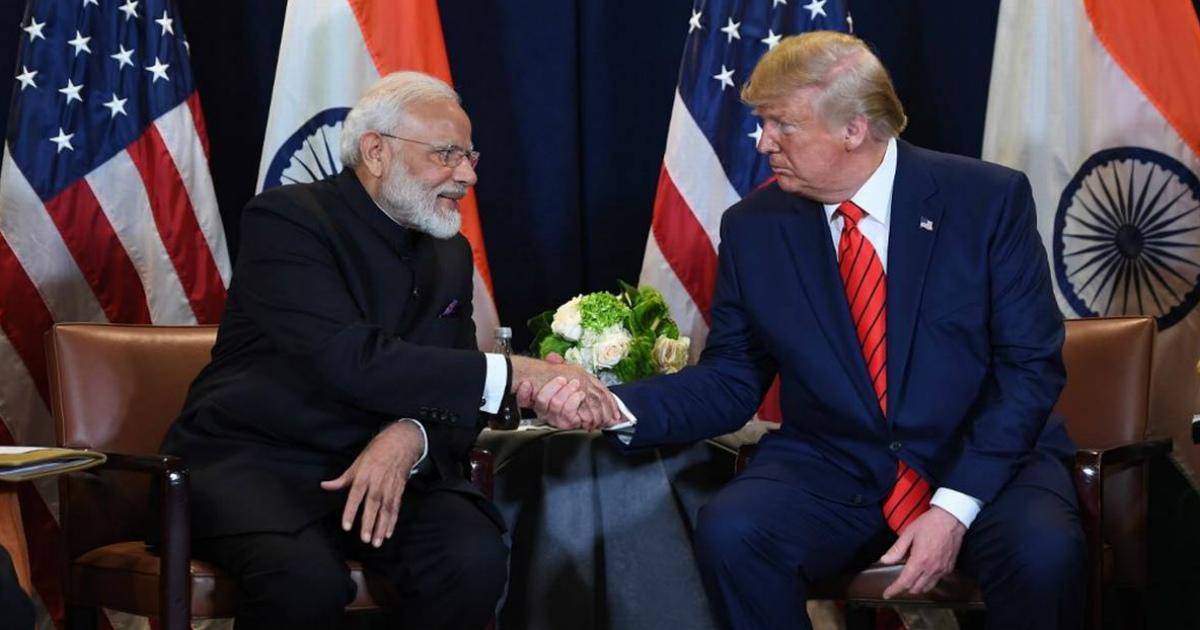 Donald Trump India visit