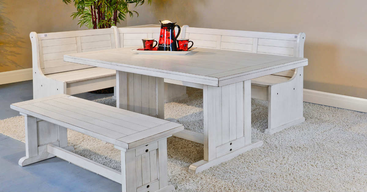 Give your home a classic design by using benches