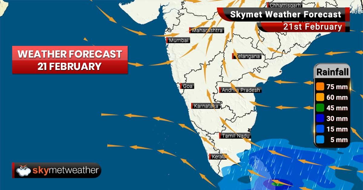 Weather Forecast for Feb 21: Rain ahead for Punjab, Haryana, Delhi, West Uttar Pradesh