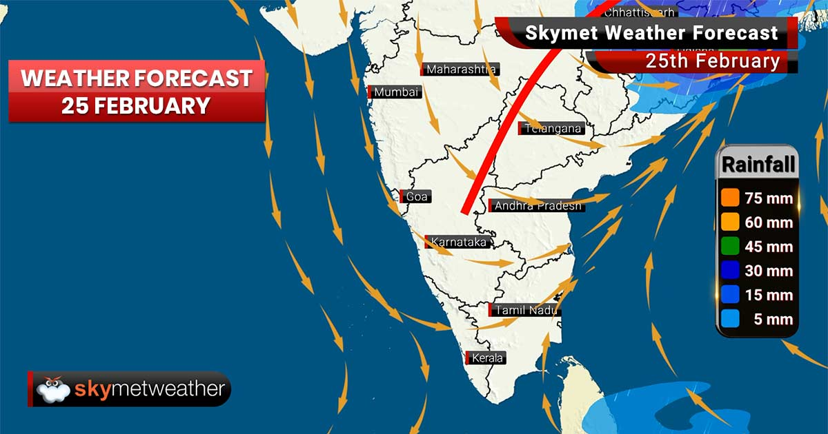 Weather Forecast for Feb 25: Thundershowers likely in Kolkata, Patna , Delhi pollution to be poor