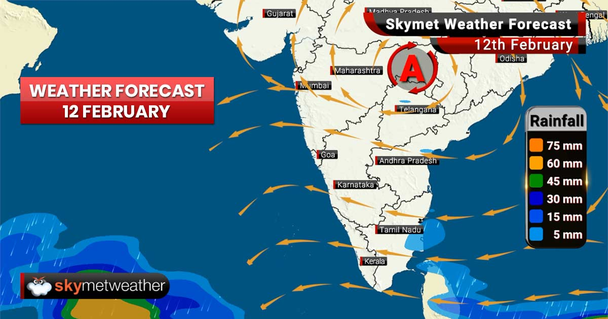 Weather Forecast for Feb 12: Cold wave to abate from northern plains, fog likely in East India