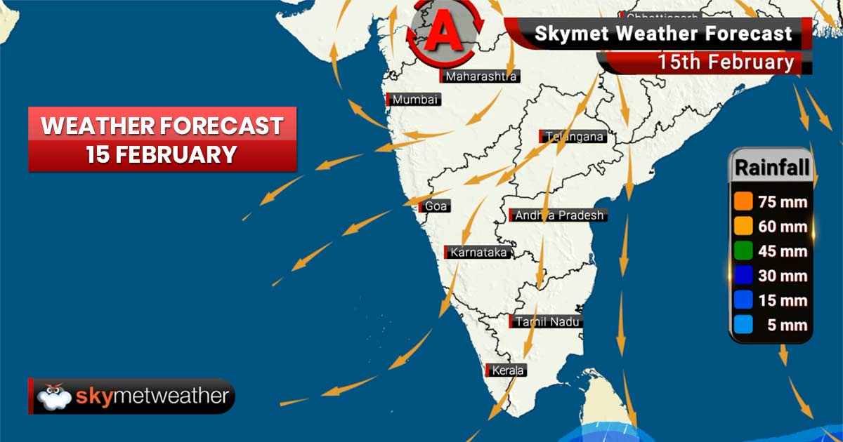 Weather Forecast for Feb 15: Temperatures to rise in Gujarat , light rain likely in Assam & Nagaland