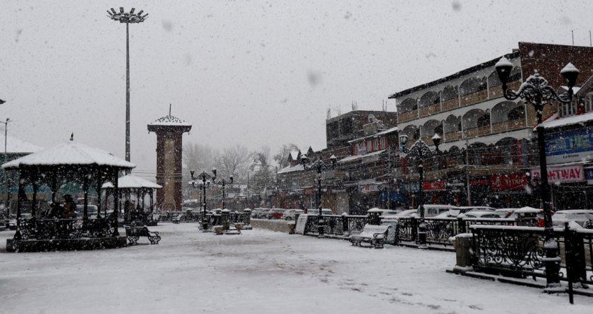 Srinagar cold