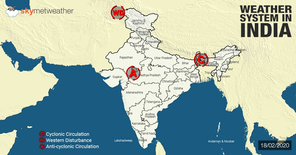 Weather-System-in-India-18-02-2020-1200