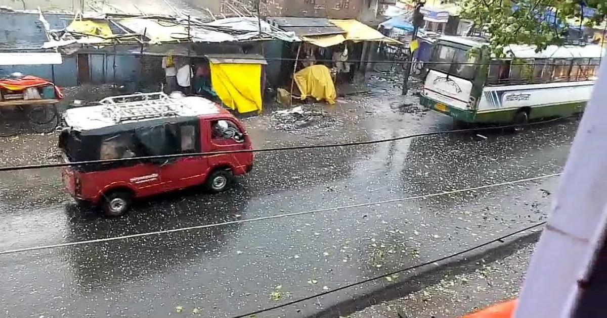 hailstorm in Bihar
