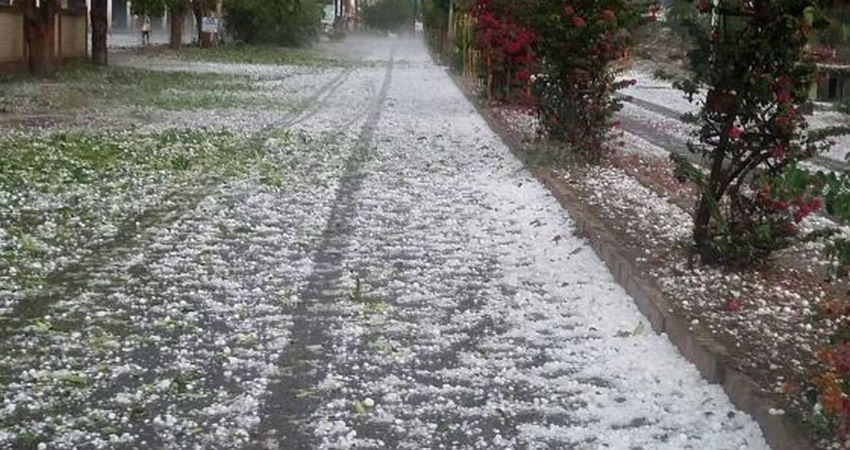 hailstorm in Jharkhand