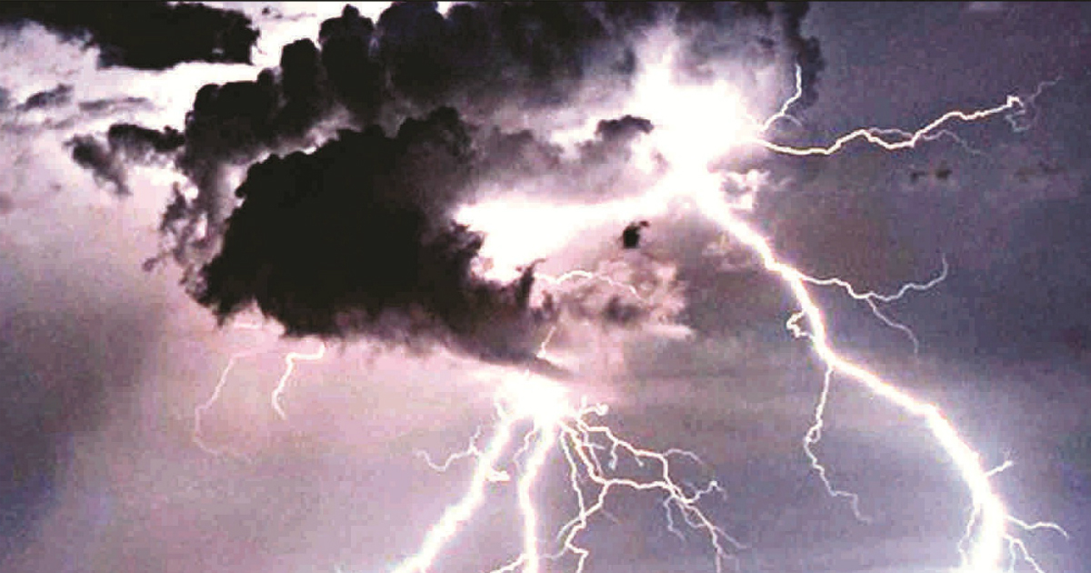 lightning strikes in Odisha