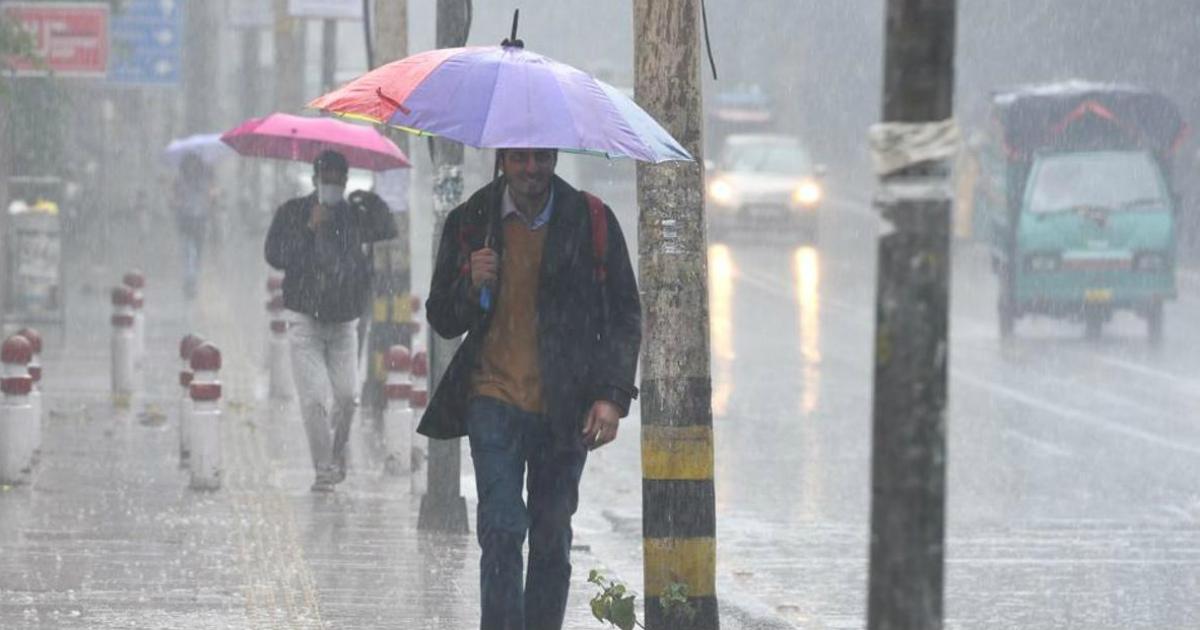 winter rain in Punjab