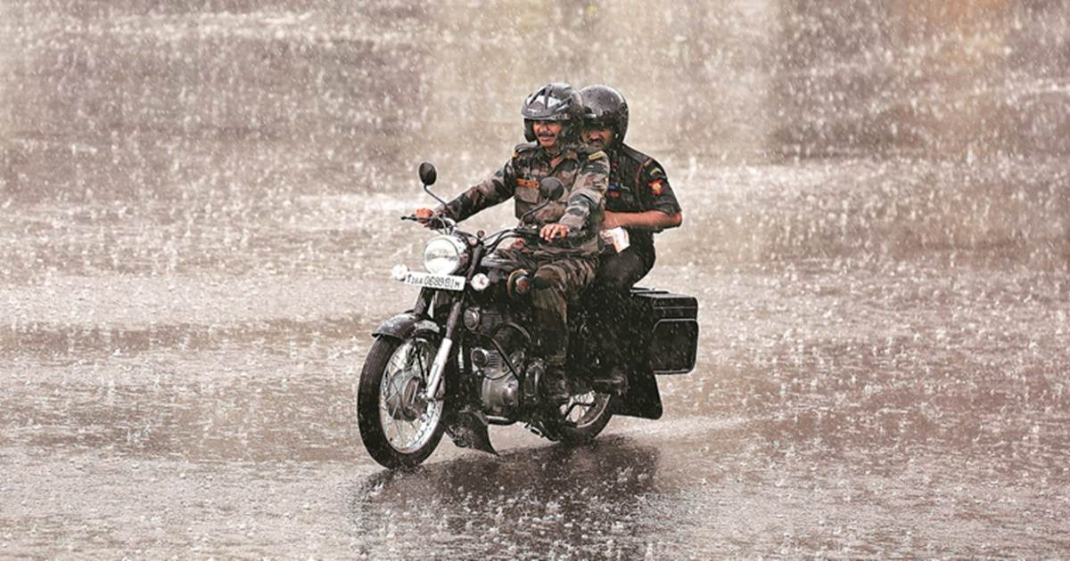 Central India rains