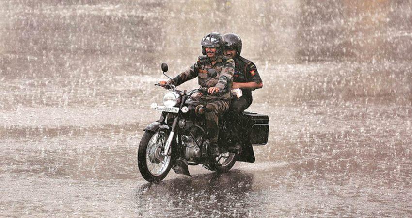Central India rains