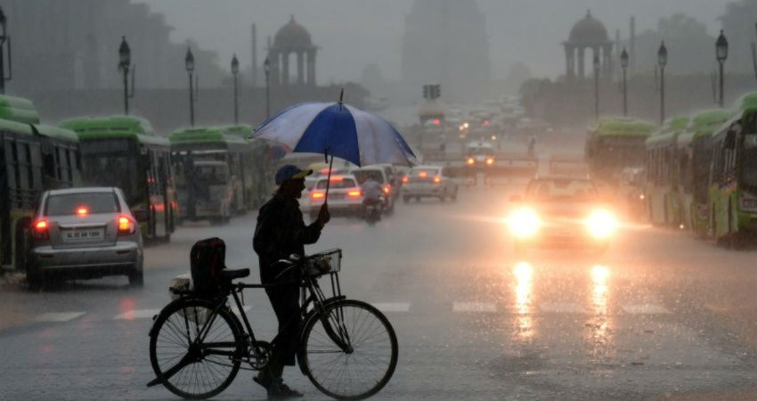 Rain activities to continue over Delhi NCR in next 3 to 4 days