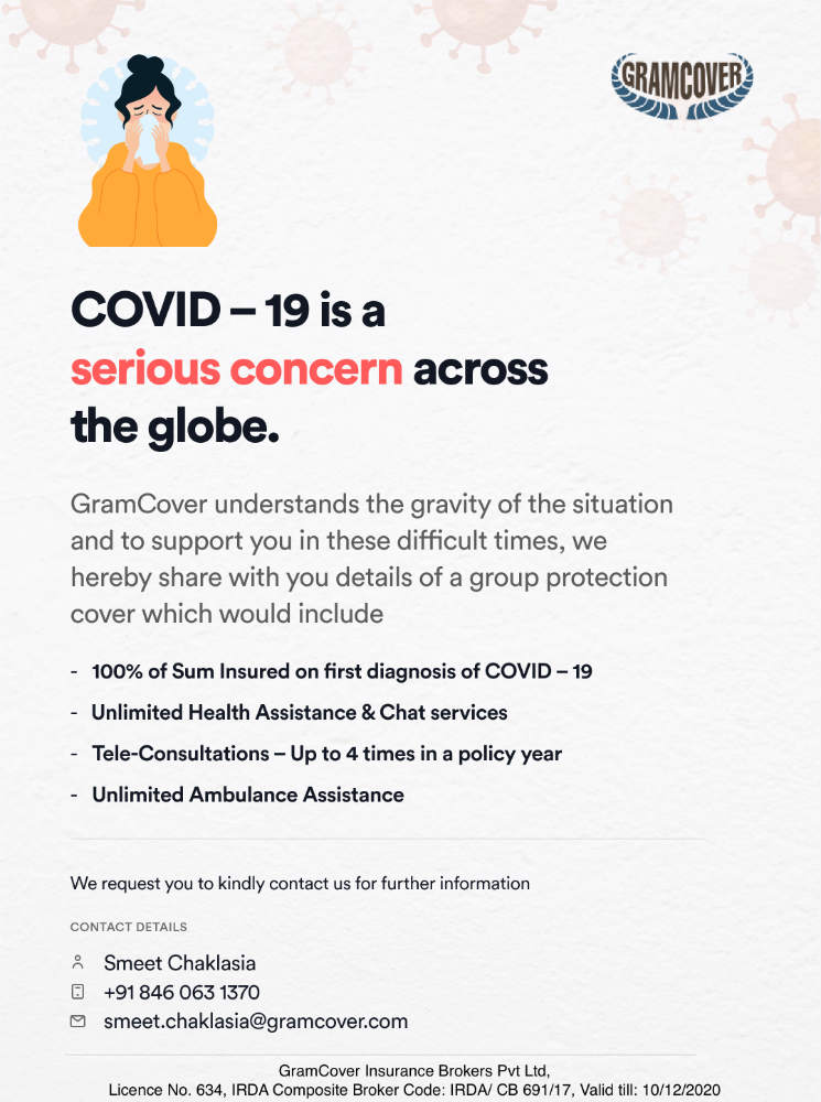 Gramcover COVID Group Protection