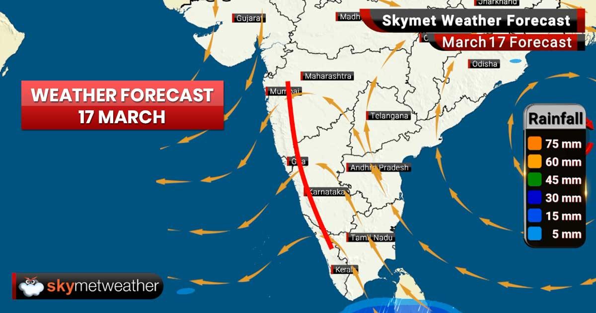 Weather Forecast for Mar 17: Delhi pollution to plummet, rains in Maharashtra, Madhya Pradesh