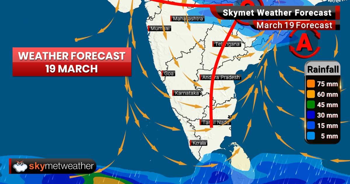 Weather Forecast for Mar 19: Intense rains, hailstorm ahead for Maharashtra, Madhya Pradesh
