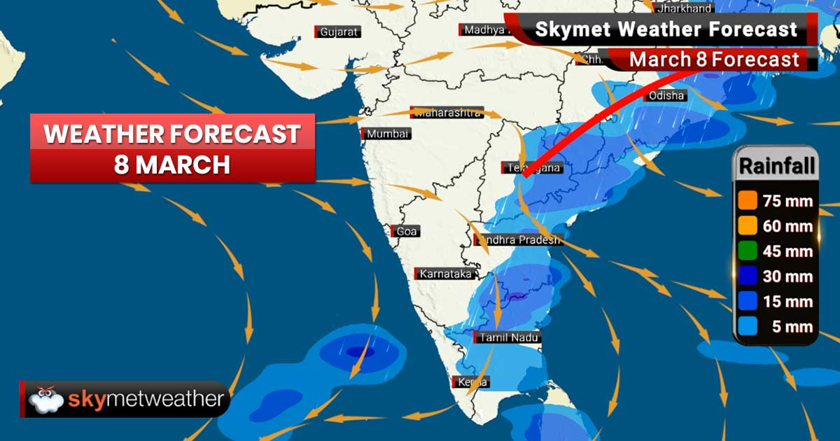 Weather Forecast for Mar 8: Heavy rains and snow in Jammu and Kashmir, Himachal Pradesh