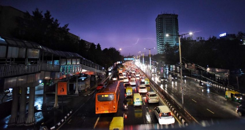 Northwest India rains