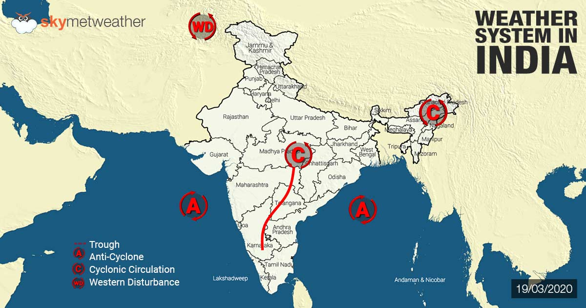 [Hindi] सम्पूर्ण भारत का 14 अप्रैल, 2020 का मौसम पूर्वानुमान