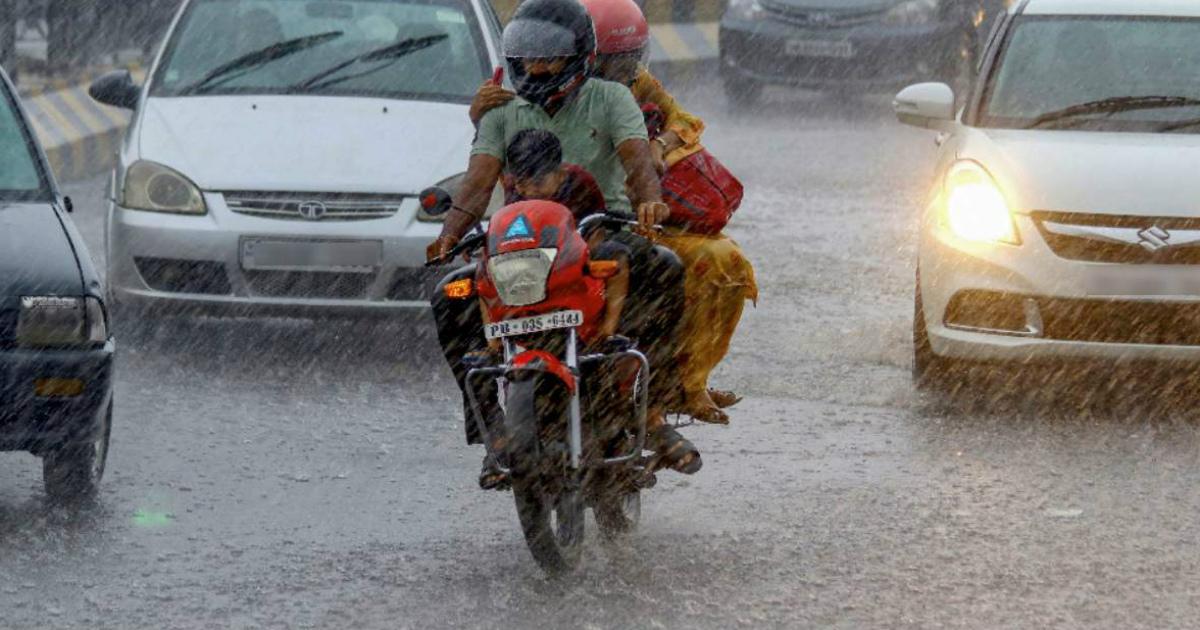 rain in Northwest India