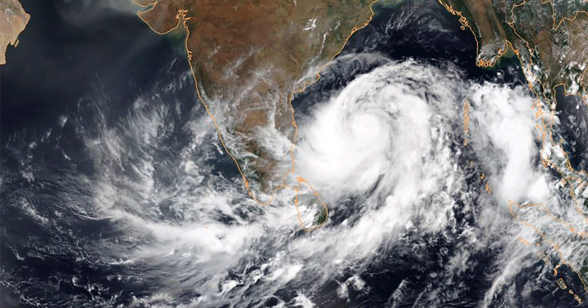 cyclonic storms in pre-monsoon