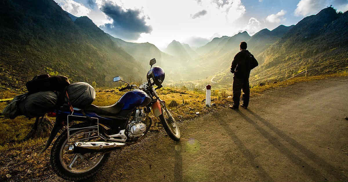 perfect spring motorcycle trip