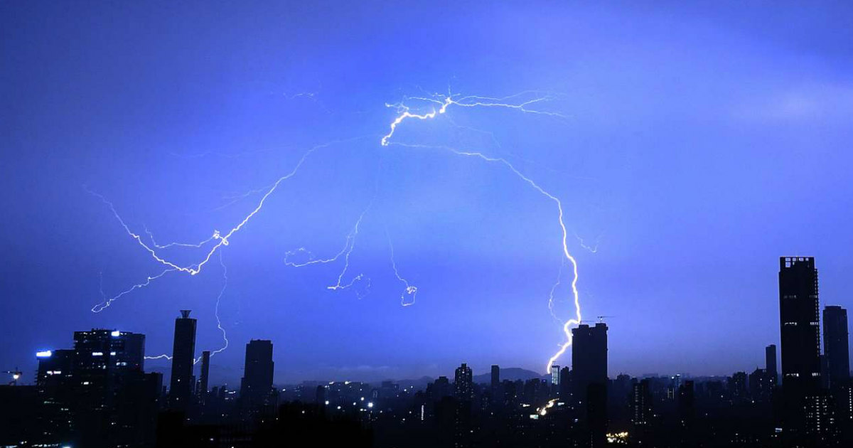 pre-Monsoon rains in India