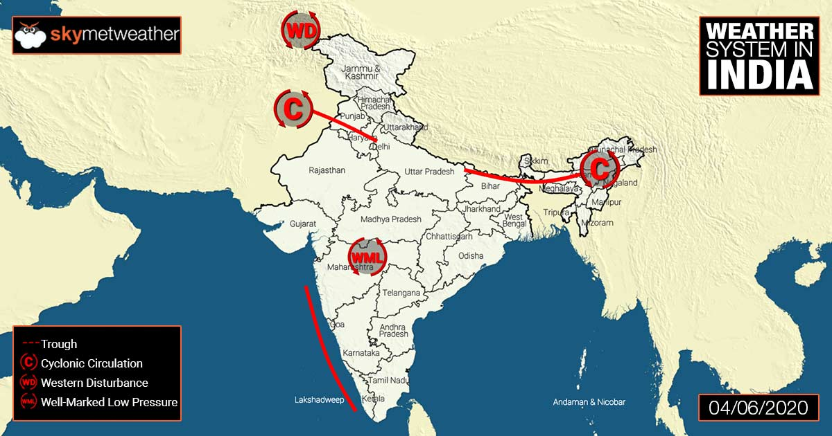 Weather Forecast for June 8 Across India: Latest Weather News ...