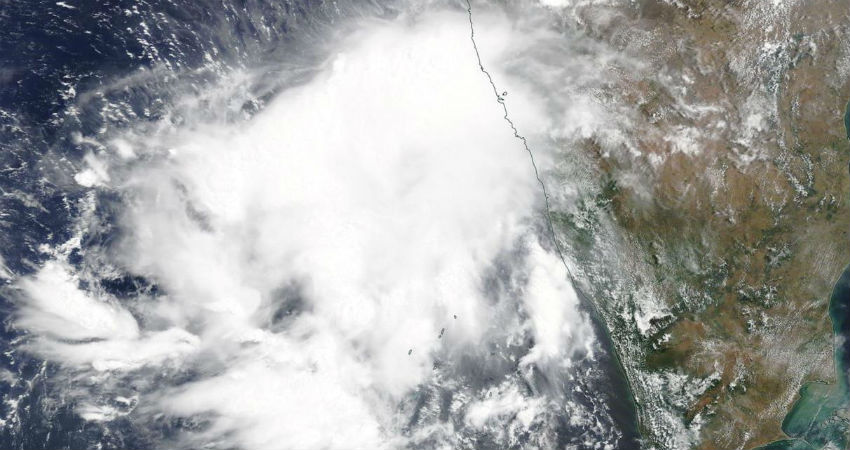 Cyclone alert