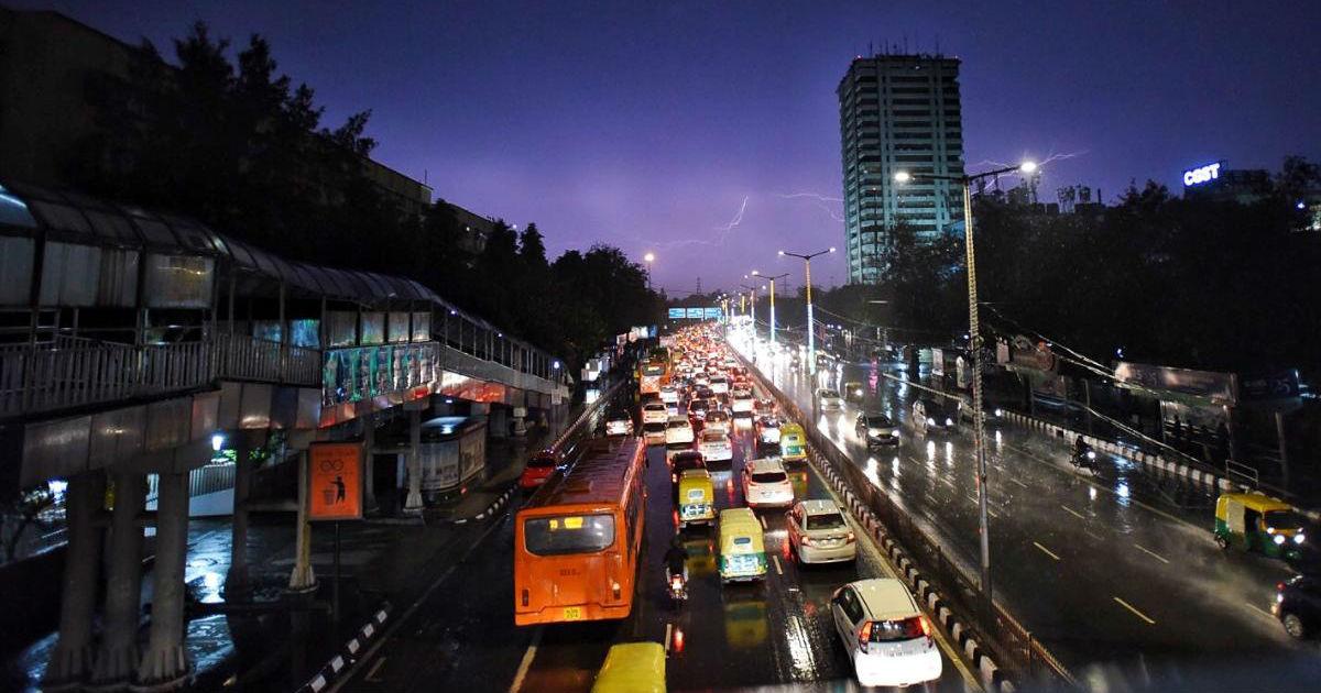 Delhi Monsoon 2020