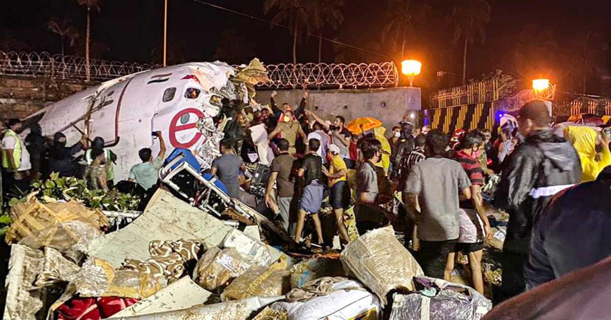 Air India Express flight skidded