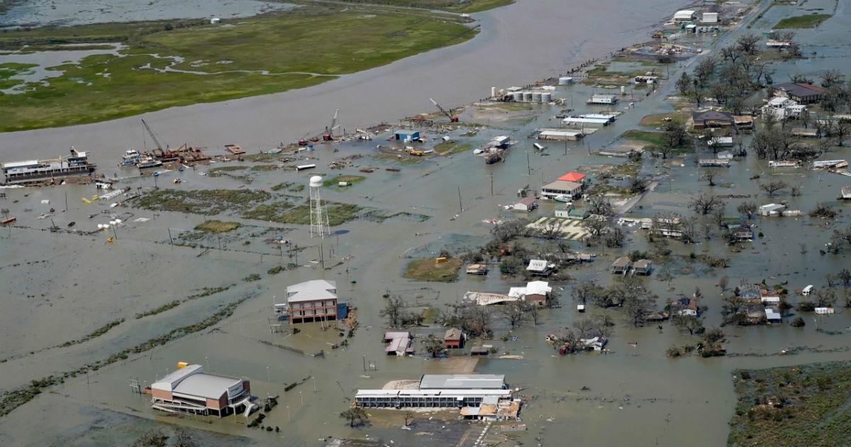 Hurricane Laura batters Louisiana