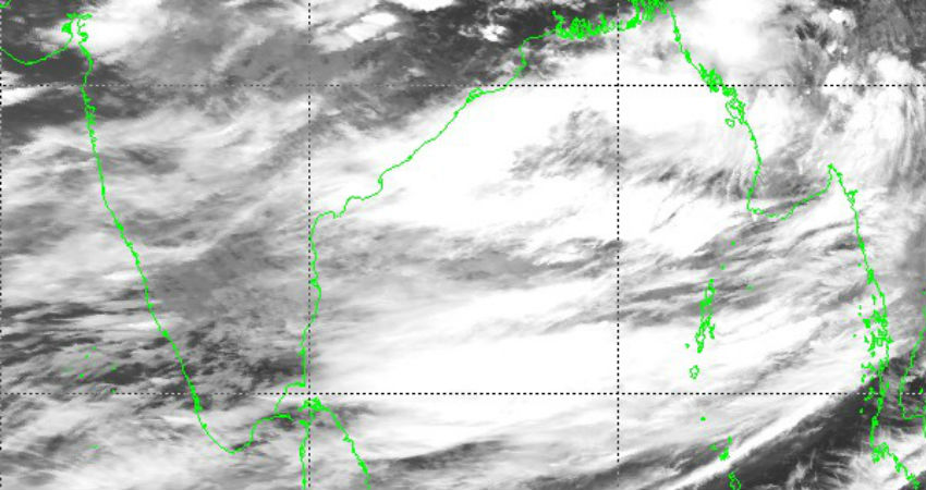 Low pressure area forms in the Bay Of Bengal