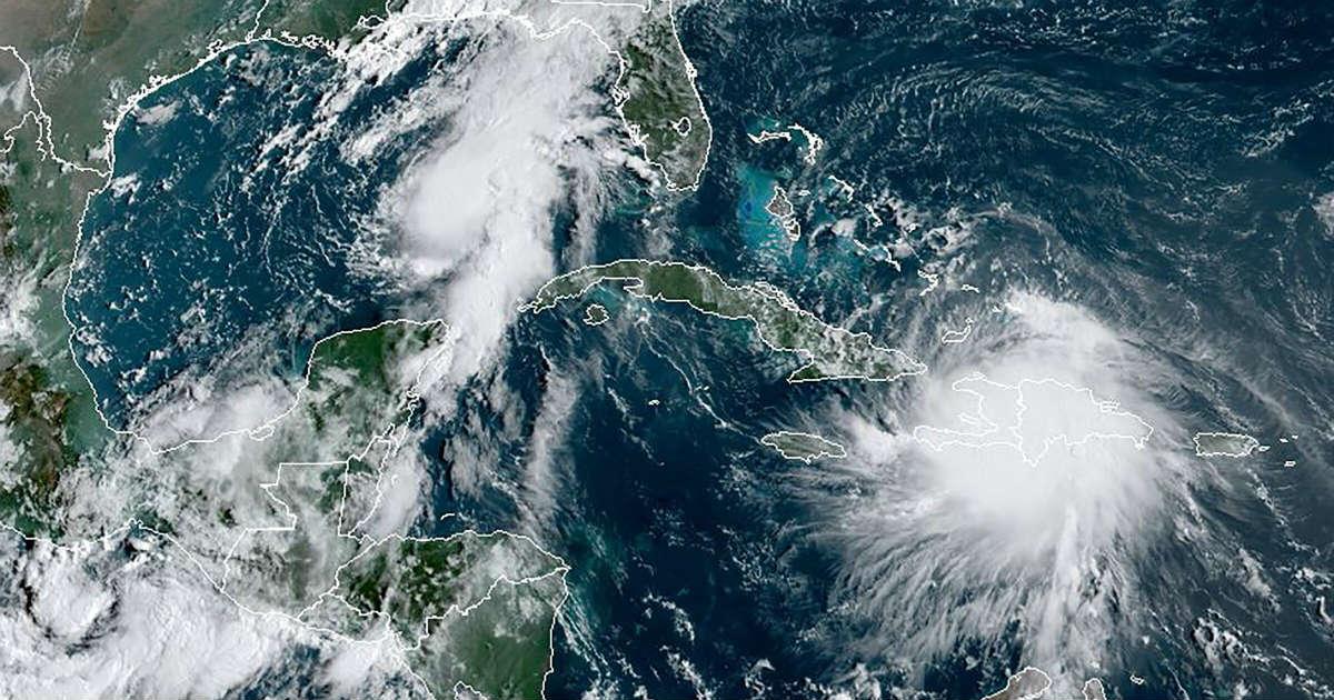 Twin hurricanes