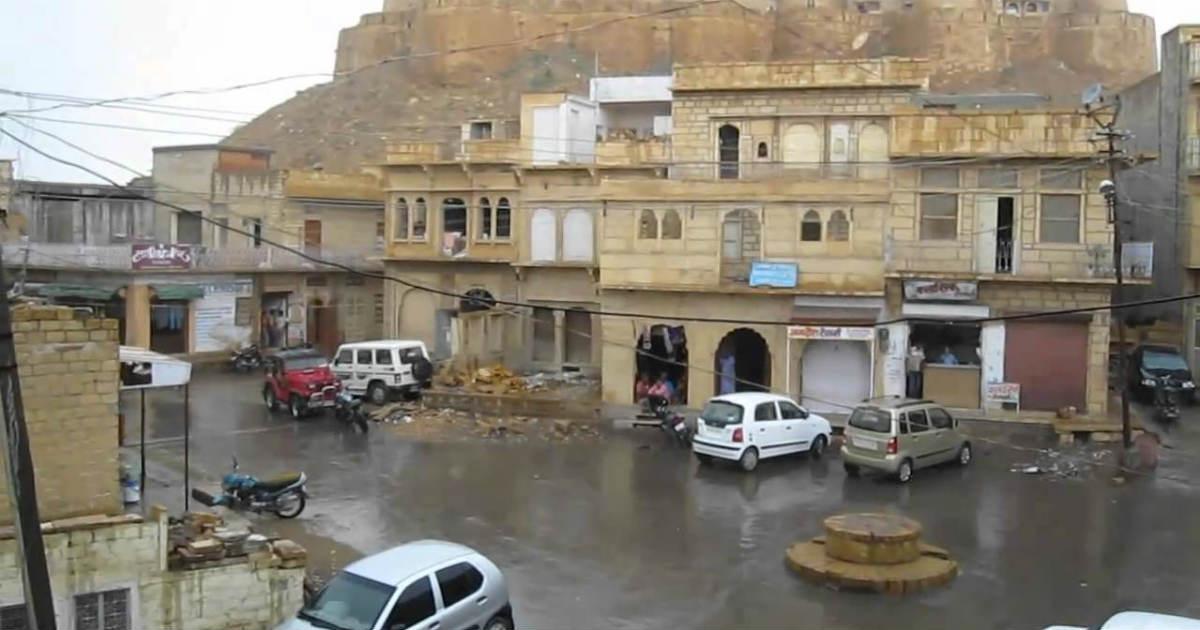 Jaisalmer rains