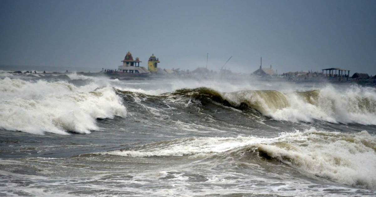 Depression in the Bay of Bengal