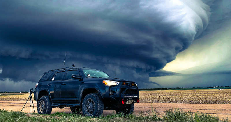 storm chasing locations