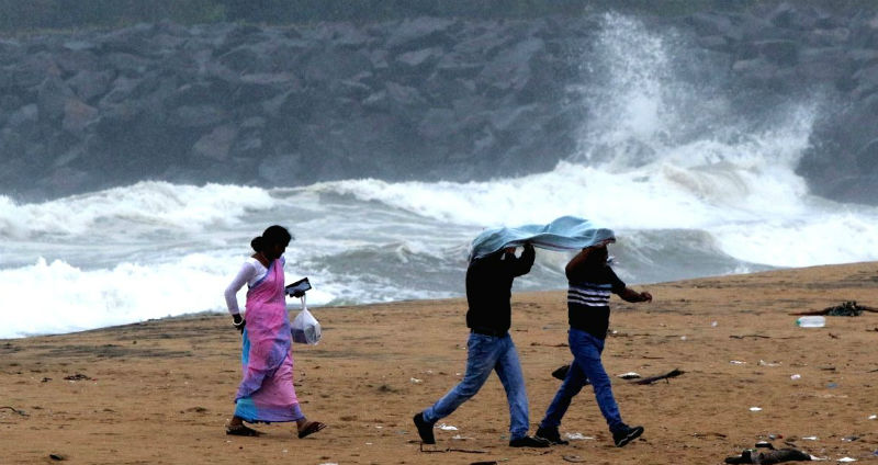 Depression forms in the Bay of Bengal
