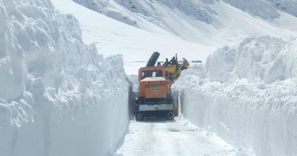 Srinagar-Leh highway closed