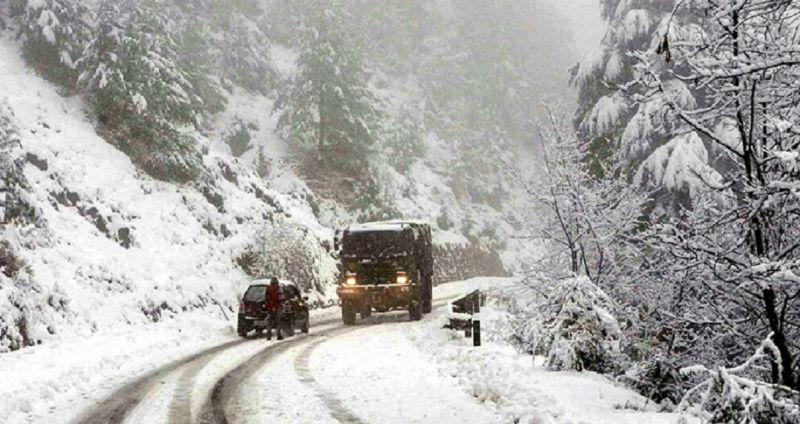 snowfall over Jammu and Kashmir
