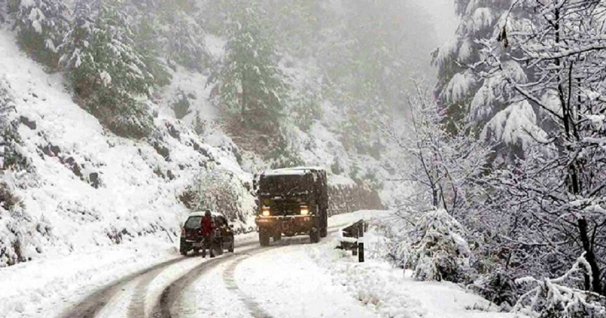 snowfall over Jammu and Kashmir fb
