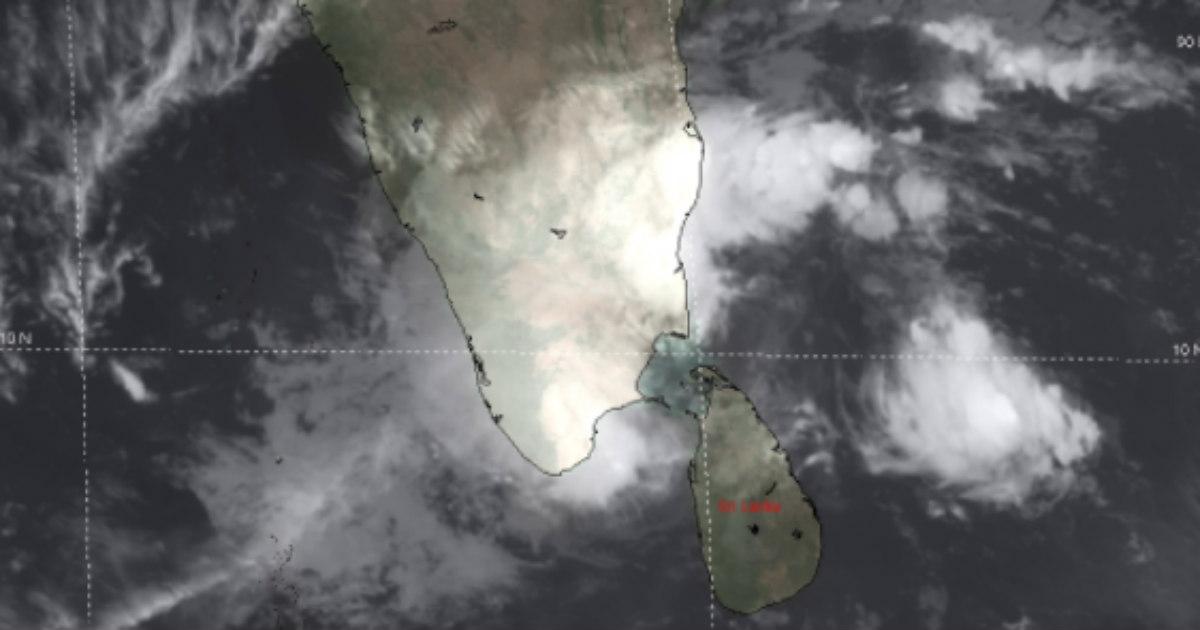 Cyclone Burevi landfall