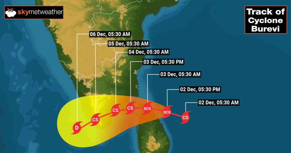 Severe Cyclone Burevi