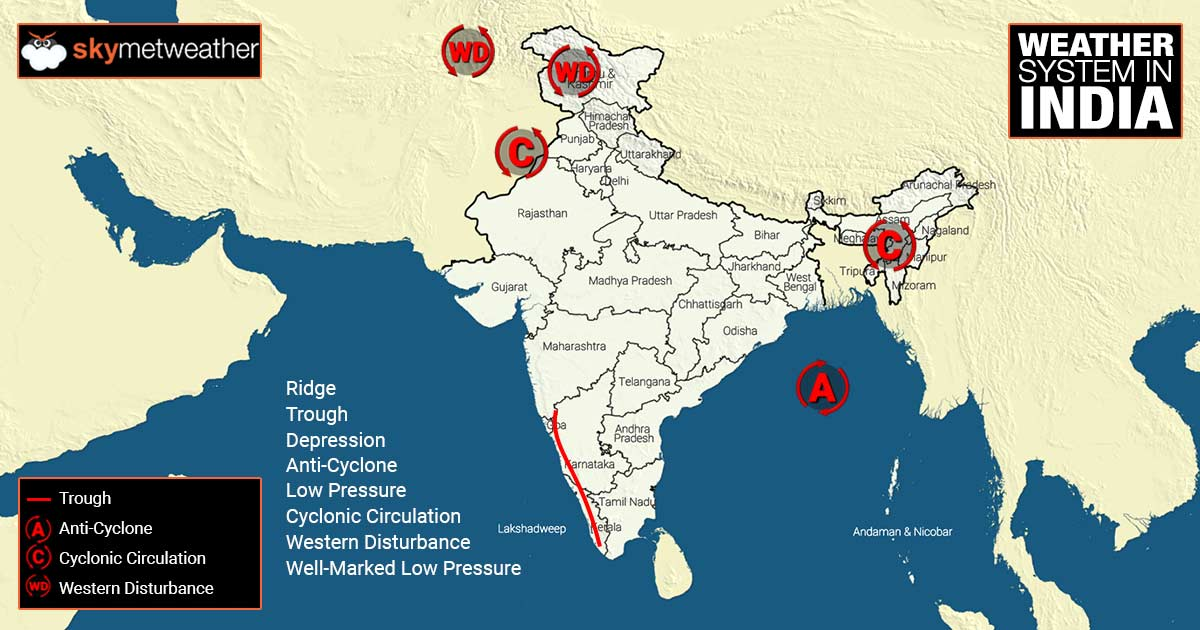 Weather Forecast And Updates For India