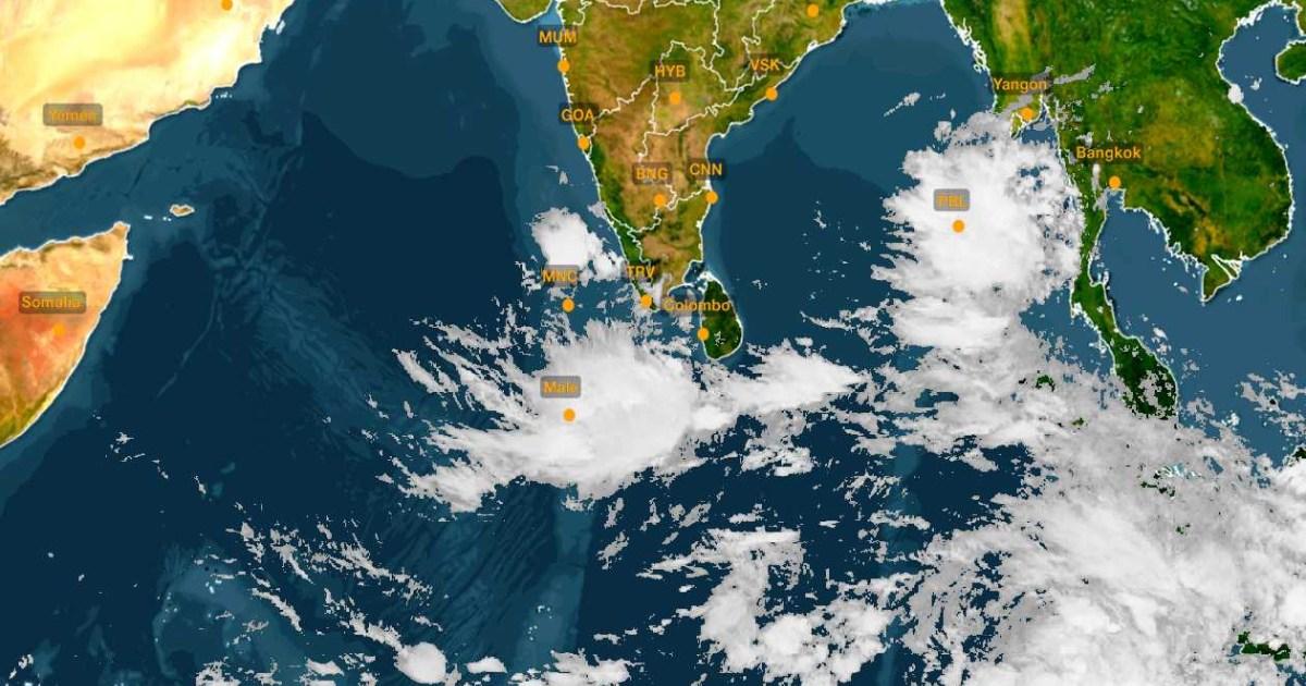 Low Pressure In Andaman Sea