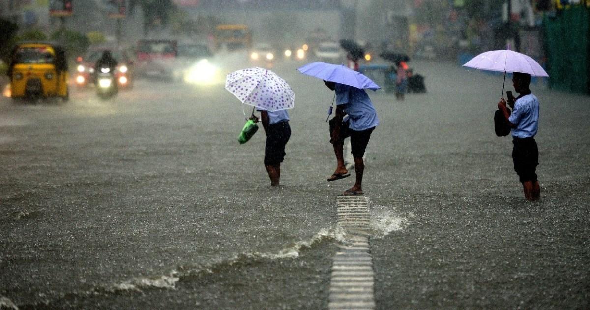 Northeast India rains